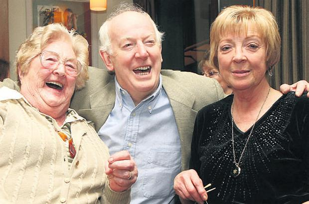 From left, Moira Deady (Mary Riordan), Tom Hickey (Benjy) and Biddy White Lennon (Maggie)