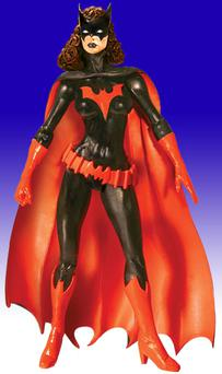 Batwoman likes justice, red accessories and women