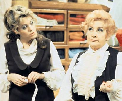 Wendy Richards in 'Are You Being Served'