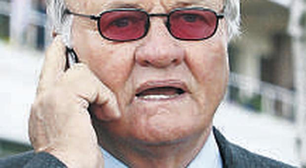 Former Man United and Aston Villa manager Ron Atkinson