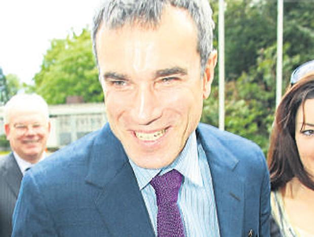 Daniel Day Lewis was granted the Freedom of Wicklow
