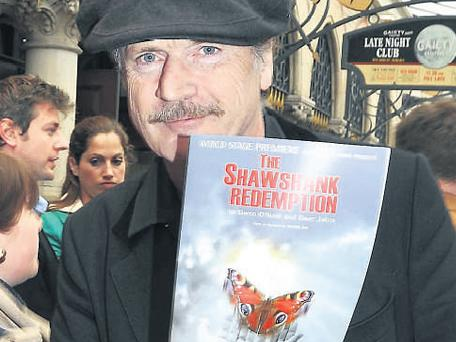 Patrick Bergin at the world stage premiere of 'The Shawshank Redemption' play at The Gaiety Theatre in Dublin last night