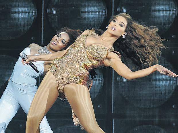Pop princess Beyonce treated her legions of Irish fans to a smart, sassy and spectacular show at the O2 in Dublin