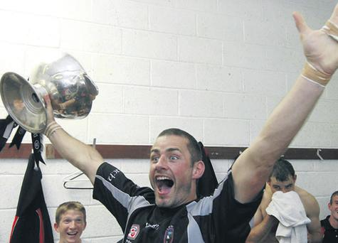 Sligo stalwart Eamonn O'Hara - seen here celebrating the Connacht SF final victory over Galway in 2007 - will be determined to put last year's disappointment behind him