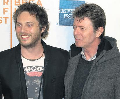 Duncan Jones, with dad David Bowie, was hugely impressed with Dominique who stars in Moon with Sam Rockwell and Kevin Spacey