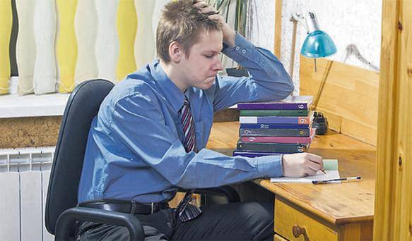 Teenagers can find themselves under a huge amount of stress in the run-up to the Junior and Leaving Certs