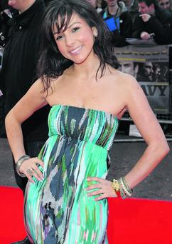 Roxanne Pallett arriving at the World Premiere of The Heavy, The Odeon West End Cinema, Leicester Square, London.