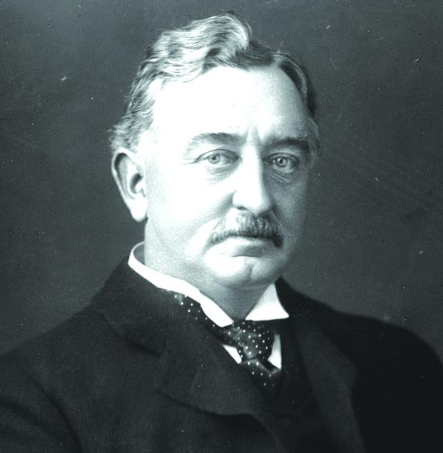 circa 1895: British colonial statesman Cecil John Rhodes (1853 - 1902), who made his fortune in the Kimberley diamond mines then took control of Rhodesia (now Zimbabwe) under the auspices of the British South Africa Company. (Photo by Hulton Archive/Getty Images)