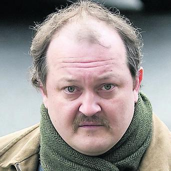 Gerard Vollrath appeared in Waterford Court in connection with the death of Vera Vollrath. Photo Patrick Browne