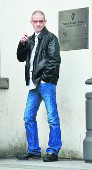 Daniel McCormack (27), who claims he was assaulted by the developer whose house he broke into