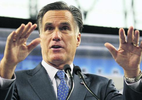 Republican Mitt Romney has adopted a hard-line policy on immigration. Photo: Reuters