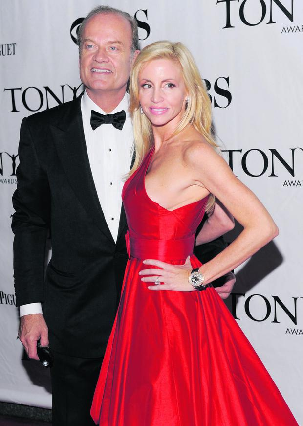 Kelsey Grammer's ex-wife Camille Donatacci insinuated on national radio that the Frasier star was a secret cross dresser.