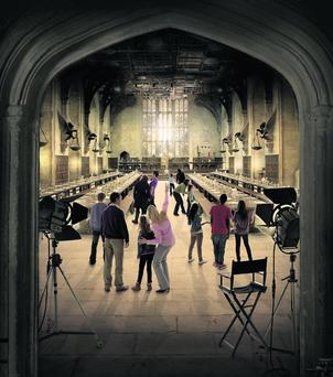 The Great Hall set