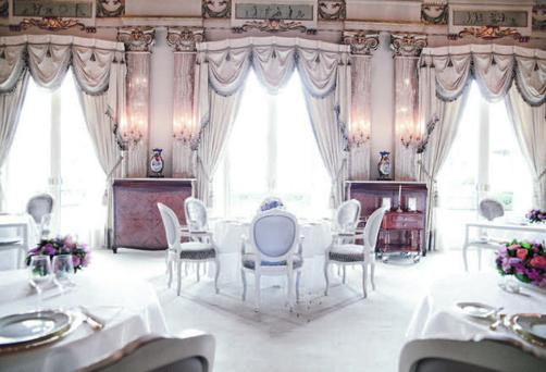 Alain Ducasse's Le Louis XV in Monaco, which holds three Michelin stars
