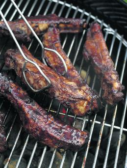 Sweet and Sticky Barbecue Glazed Sausages