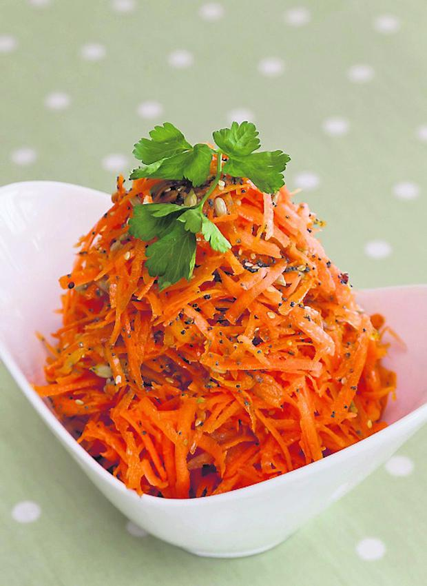 Carrot and Multi Seed Salad