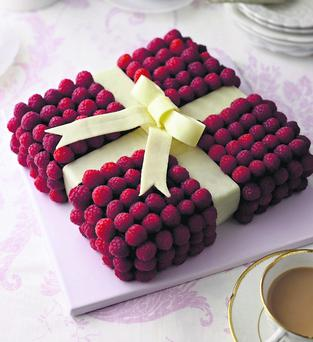 Jewel-Box Cake