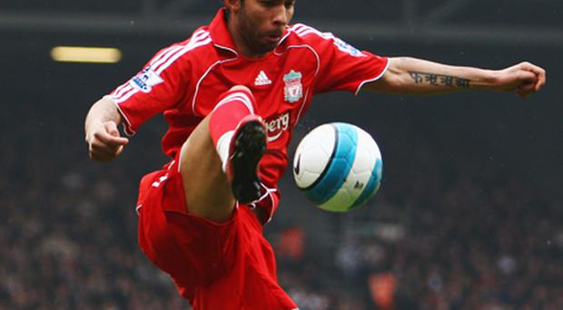 Jermaine Pennant during his time with Liverpool