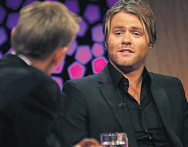 Brian McFadden on RTE's Late Late Show