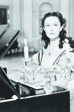 Geraldine Fitzgerald in Wuthering Heights
