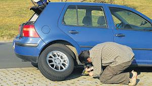 Handle the pressure... Look after all tyres, including your spare