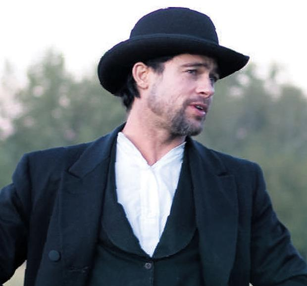 Brad Pitt stars in The Assassination of Jesse James by the Coward Robert Ford