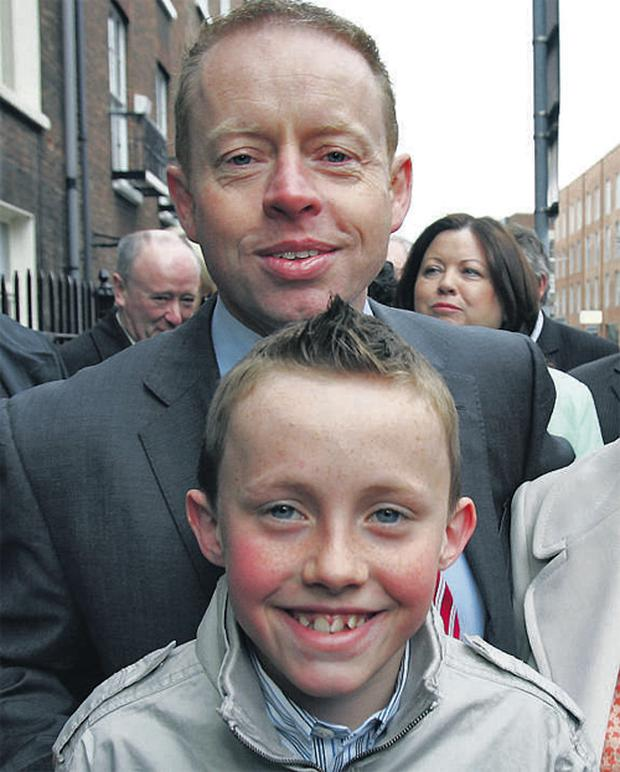 Senator Cannon with his 11-year-old son Evan won by 51pc to 49pc