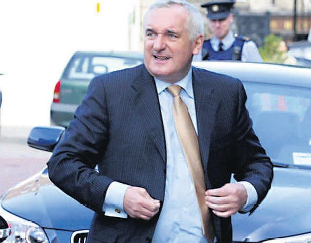 We should be more willng to discuss openly the events of Bertie Ahern's departure from office before we consign it to history. Credit: Ray Cullen