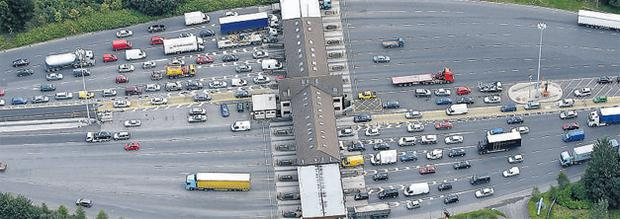 The M50 toll plaza is due to close on Saturday night, as a new barrier-free system comes into operation on the route