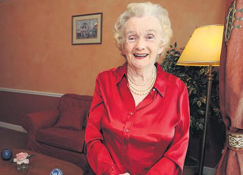Kathleen McCready, aged 78, originally from Ardara, Co Donegal, who is a resident at Belmont House Private Nursing Home, Stillorgan, Dublin
