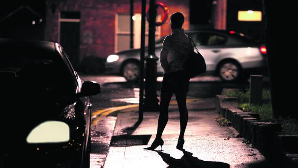 Dublin City Prostitution feature. 'Kathy' pictured in one of Dublins red light hotspots. Picture; GERRY MOONEY. 20/11/09