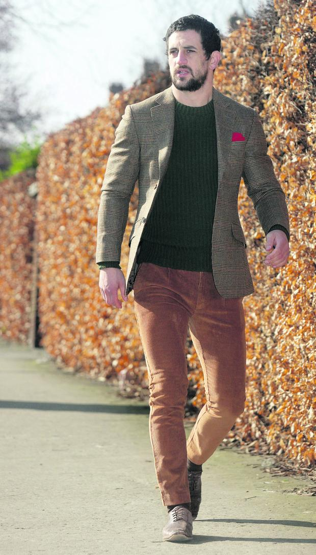 Paul Galvin Tweed fashion . Pix Ronan Lang/Feature File