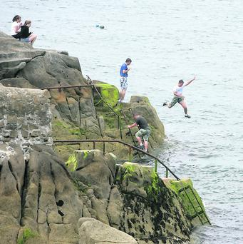 Forty foot sandycove Photo: Ronan Lang