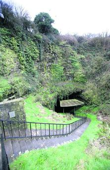 The entrance to the Dunmore Caves Photo: Ronan Lang/Feature File