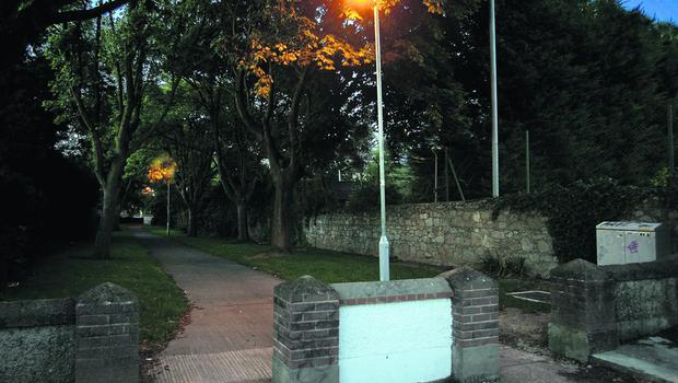 Silchester Crescent Glenageary, where Raonaid Murray was murdered in 1999. Pix Ronan Lang/Feature File