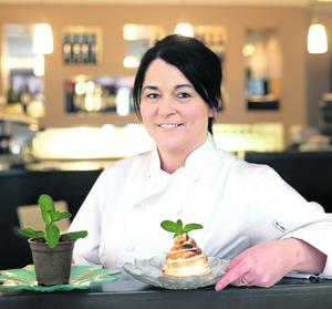 Zuni restaurant head chef Maria Raftery . Pix Ronan Lang/Feature File