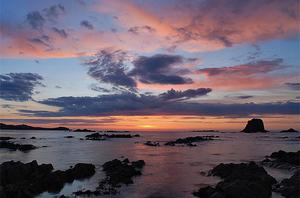 Sunset at Malin Head by Daniil Koltsov which came second in the under 18s category. Photo: PA