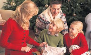 The study found that people are happiest on Christmas Day after gifts have been opened and the dinner has been served