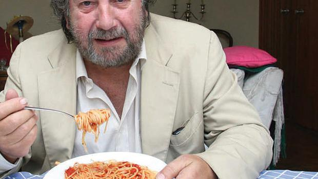 Eat, drink and be merry: Food critic Paolo Tullio. Photo: Martin Maher
