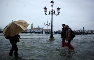It was the fourth time since 2000 that Venice had been hit by record high water.