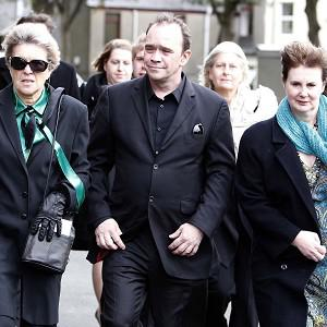 Mourners including Todd Carty paid their respects to Norman Wisdom
