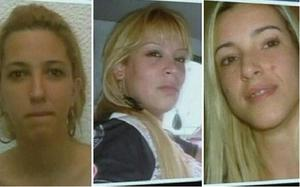 Police have released images of the suspected gang members