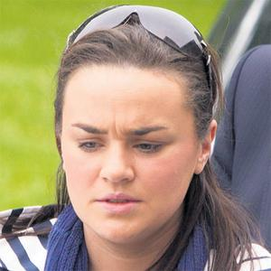 Karen Morrissey, who bears a striking resemblance to Mr Forsey's ex-wife, pictured during the trial