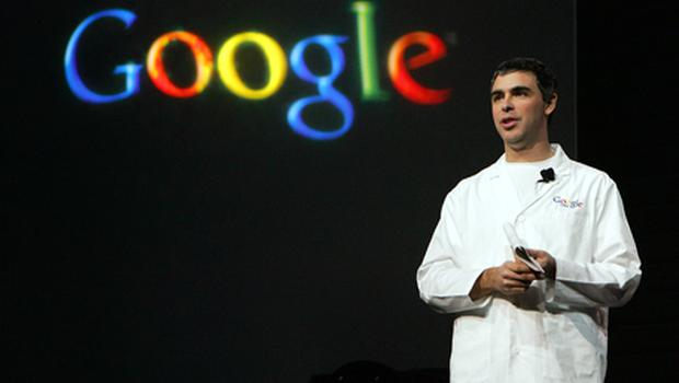 Larry Page will take over at Google on April 4 . Photo: Getty Images