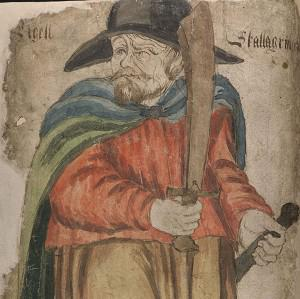 Egill Skallagrimsson was a Viking who had a lifelong interest in homicide (Arni Magnusson Institute)
