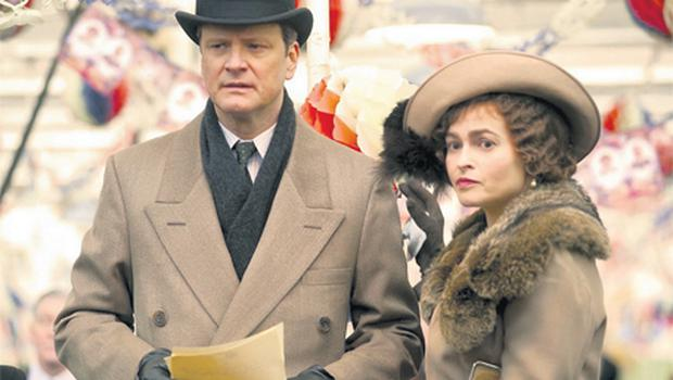 ROYALTY WITH A VIEW: Colin Firth and Helena Bonham Carter play King George VI and the Queen Mother in the critically acclaimed The King's Speech