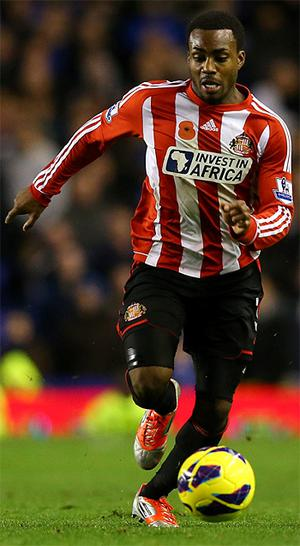 The rest of James McClean's Sunderland team mates wore jerseys with an embroidered poopy