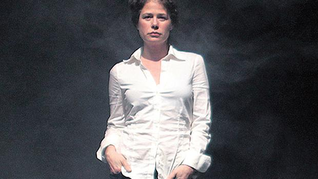 FEELING AT HOME: Maura Tierney's paternal grandparents were Irish. 'I was very close to my grandmother. She was from Leitrim and grew up on a farm. She left for Boston when she was 16'
