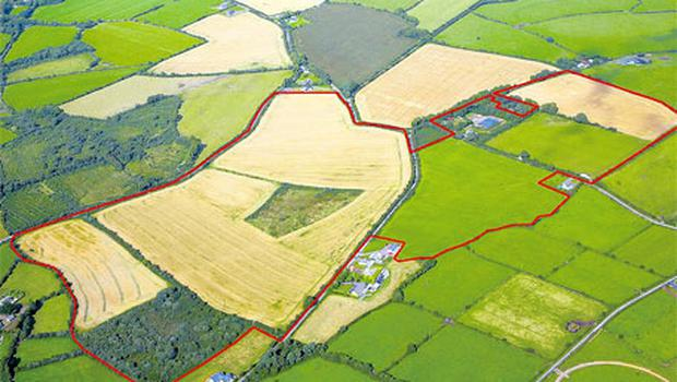 EXTENSIVE: This 103ac farm is to be sold in lots and is laid out in large divisions with extensive road frontage onto a public road