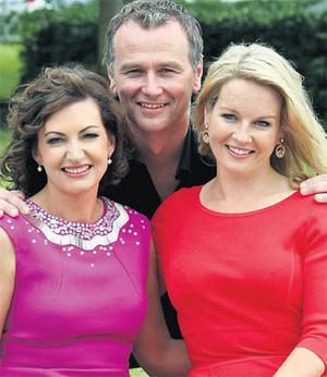 Maura Derrane (left), Daithi O Se and Claire Byrne whose respective shows have been dropped by RTE
